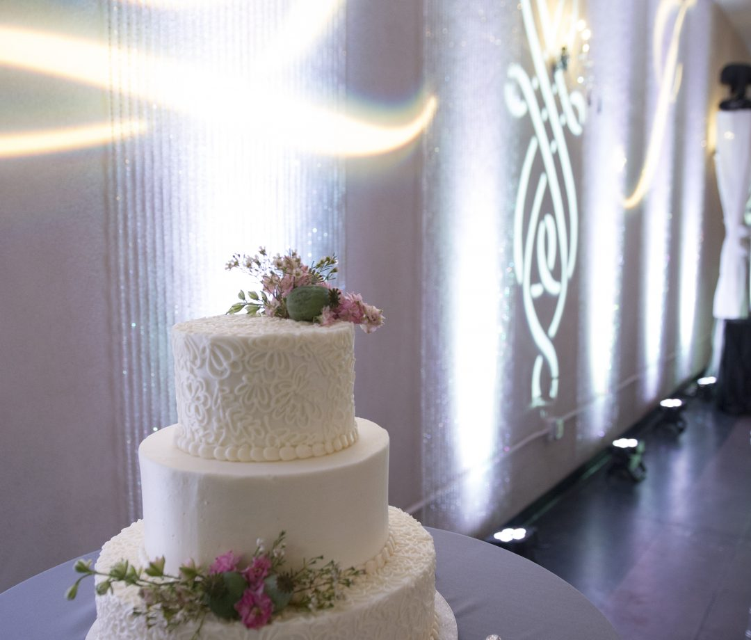 AZ Sound Pro Wedding Services Cake 2