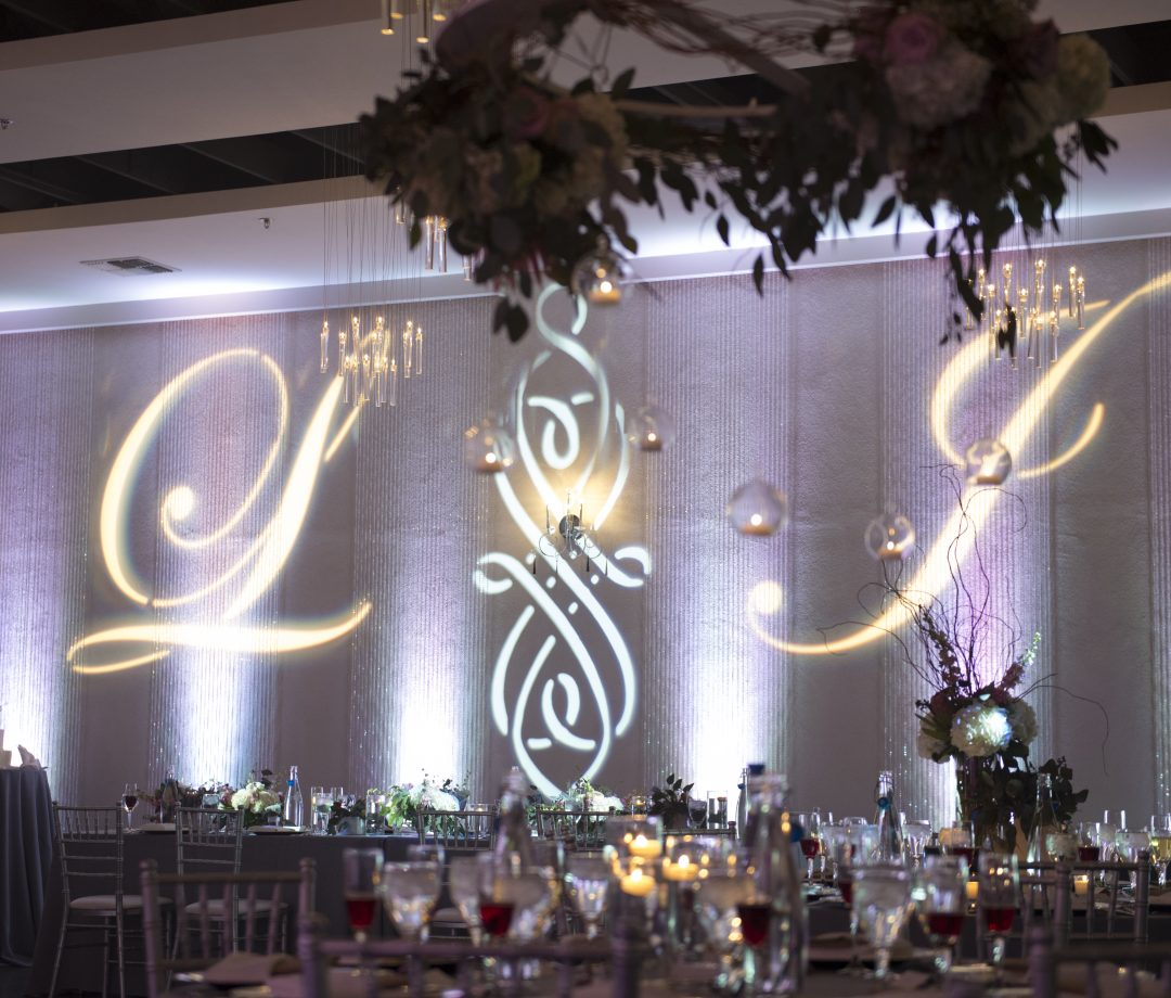 AZ Sound Pro Wedding Services Front with Chandelier