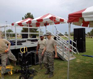 Military Events - AZ Sound Pro