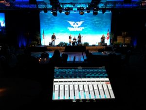Mixing Board Corporate Event - AZ Sound Pro