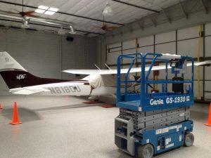 Plane Hangar - AZ Sound Pro