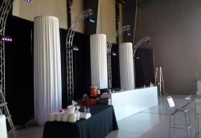 Lighting and Table Setup - AZ Sound Pro