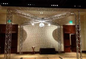 Disco Ball Setup - AZ Sound Pro